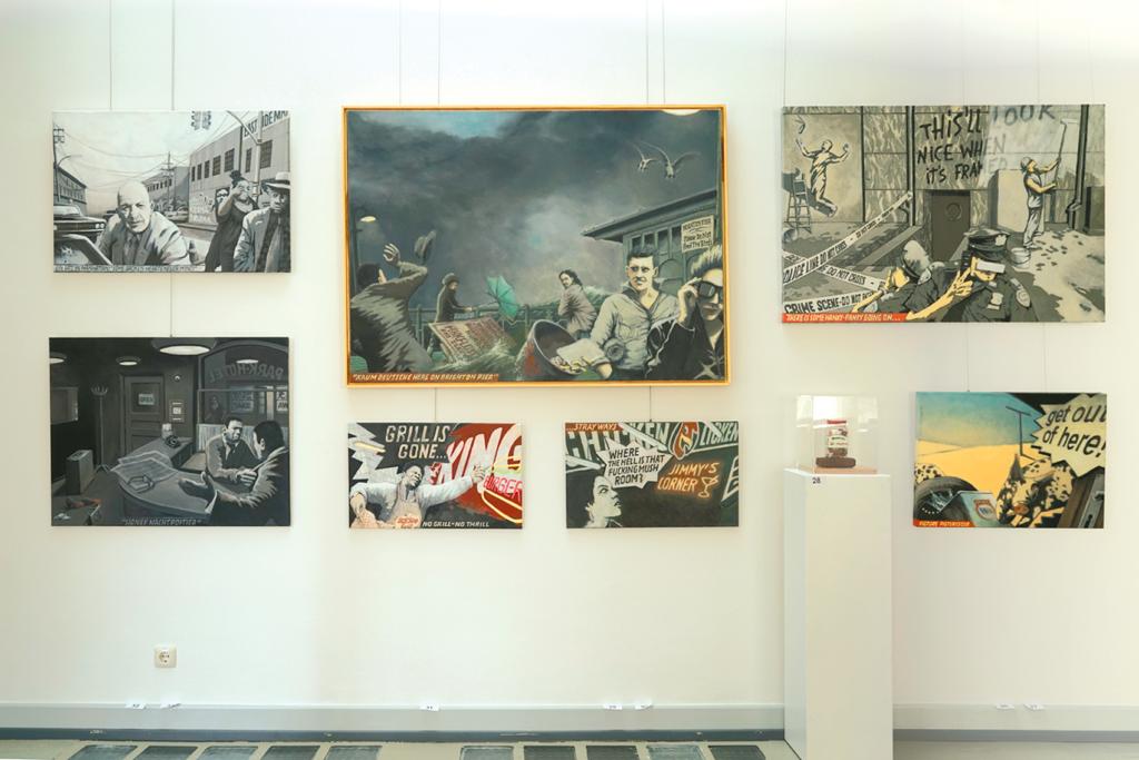 Kunzt-Ausstellung im Kurhaus Bad Soden 2018